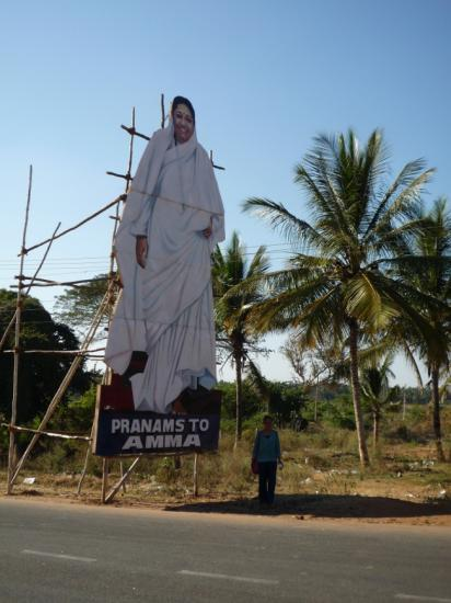 Figure d amma celebre gourou indienne2