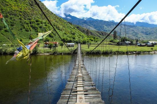 Mechuka vallée Arunachal Pradesh