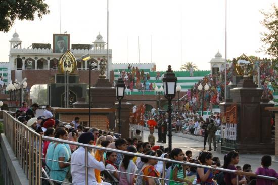 Show frontiere inde pakistan