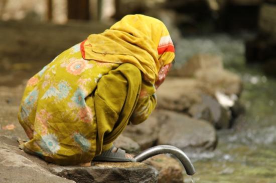 Turtuk village pakistanais système irrigation ruelles